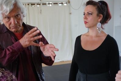 Eugenio Barba (Odin Teatret) e Ornella Bonventre